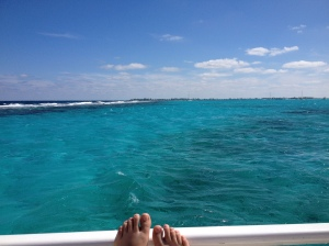 Thanksgiving week in Grand Cayman.